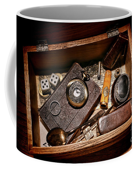 Keepsake Coffee Mug featuring the photograph Pioneer Keepsake Box by Olivier Le Queinec