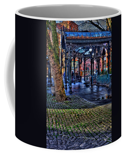 The Pergola Coffee Mug featuring the photograph Pioneer Square In Seattle by David Patterson