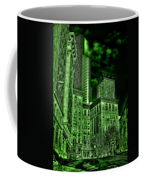 Pioneer Square Seattle Coffee Mug featuring the photograph Pioneer Square In The Emerald City - Seattle Washington by David Patterson