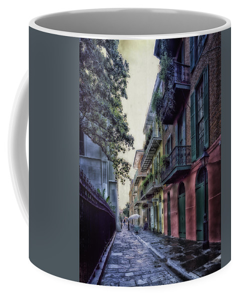 New Orleans Coffee Mug featuring the photograph Pirate's Alley In New Orleans by Mountain Dreams