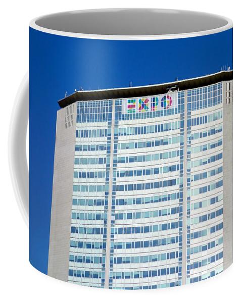 2015 Coffee Mug featuring the photograph Pirelli Building by Valentino Visentini