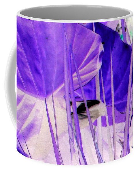 Purple Coffee Mug featuring the photograph Place Of Wonder by Debi Singer