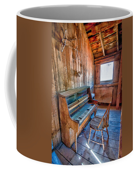 Old Coffee Mug featuring the photograph Play It Again Sam by Cat Connor