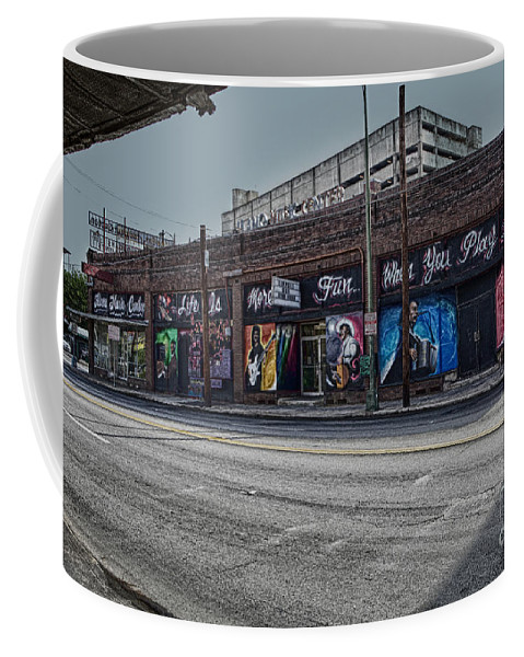 San Antonio Coffee Mug featuring the photograph Play Some Music by Erika Weber