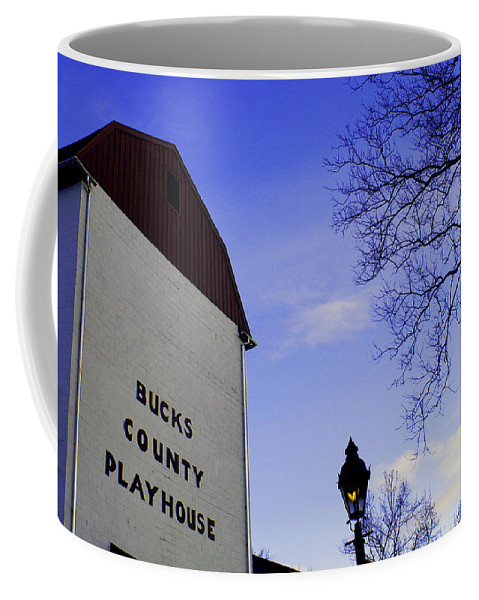 Bucks County Playhouse Coffee Mug featuring the photograph Playhouse by Pablo Rosales