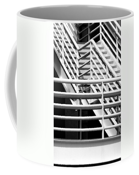 Stairs Coffee Mug featuring the photograph Playing The Angles by Joe Kozlowski