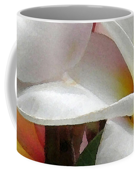 James Temple Coffee Mug featuring the photograph Plumeria Dance by James Temple