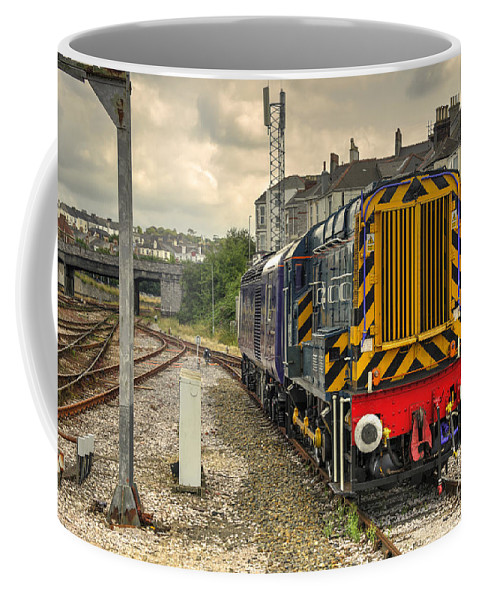 Class Coffee Mug featuring the photograph Plymouth Gronk by Rob Hawkins