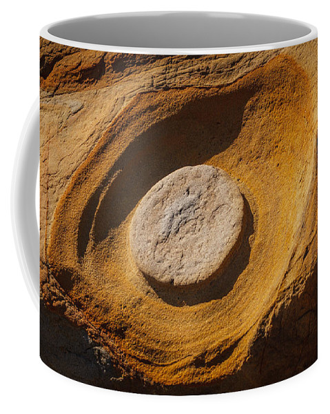 Copyrighted Coffee Mug featuring the photograph Point Lobos Abstract 1 by Mike Penney