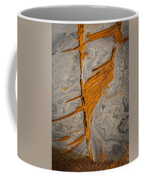 Copyrighted Coffee Mug featuring the photograph Point Lobos Abstract 13 by Mike Penney