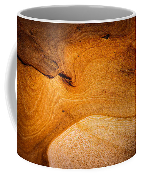 Copyrighted Coffee Mug featuring the photograph Point Lobos Abstract 8 by Mike Penney