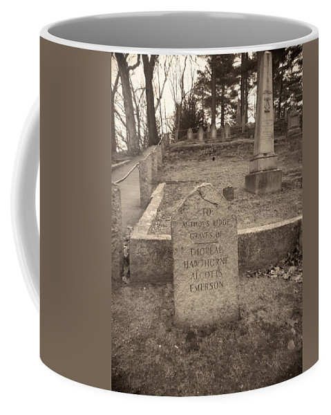 Massachucetts Coffee Mug featuring the photograph Point The Way by Two Bridges North