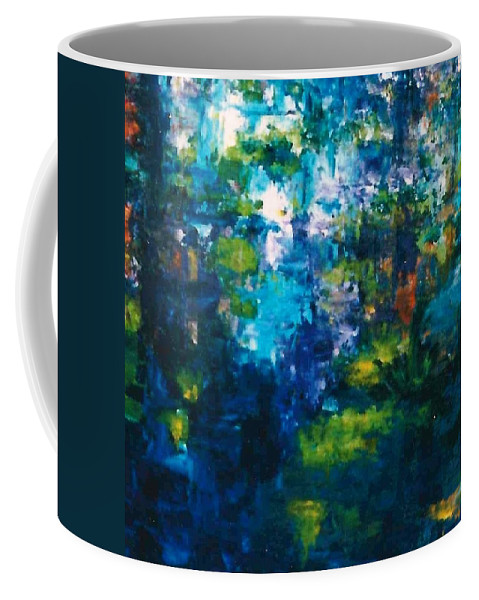 Lyle Coffee Mug featuring the painting Pond by Lord Frederick Lyle Morris - Disabled Veteran