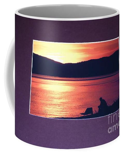 Ponder Coffee Mug featuring the photograph Ponder by Sharon Elliott