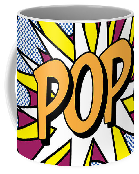 Digital Coffee Mug featuring the painting Pop Art by Gary Grayson