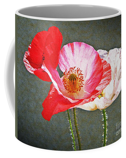 Nature Coffee Mug featuring the photograph Poppies by Chris Berry