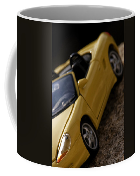 Car Coffee Mug featuring the photograph Porsche Car by Paulo Goncalves
