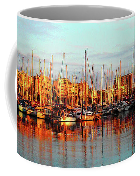 Europe Coffee Mug featuring the photograph Port Vell - Barcelona by Juergen Weiss