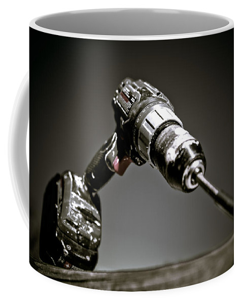 Drill Bit Coffee Mug featuring the photograph Porter-cable Drill by Sennie Pierson