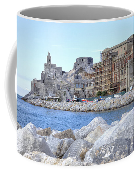 Porto Venere Coffee Mug featuring the photograph Porto Venere by Joana Kruse