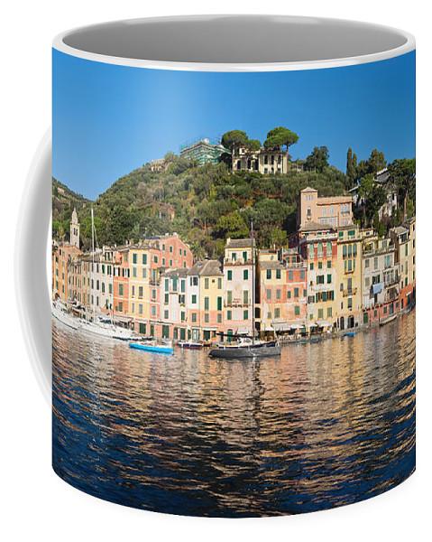 Bay Coffee Mug featuring the photograph Portofino - Italy by Antonio Scarpi