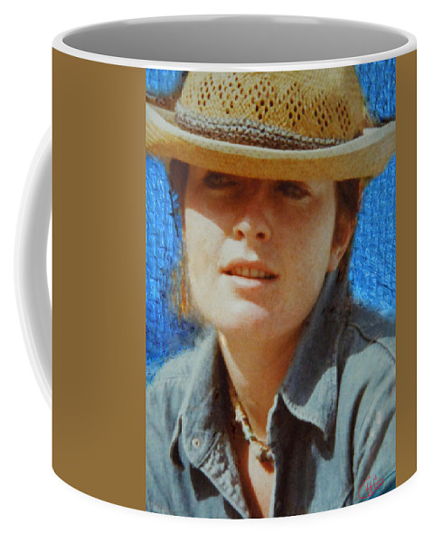 Colette Coffee Mug featuring the photograph Portrait From The Middle Eightieth by Colette V Hera Guggenheim