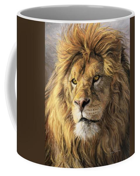 Portrait Of A Lion Coffee Mug For Sale By Lucie Bilodeau