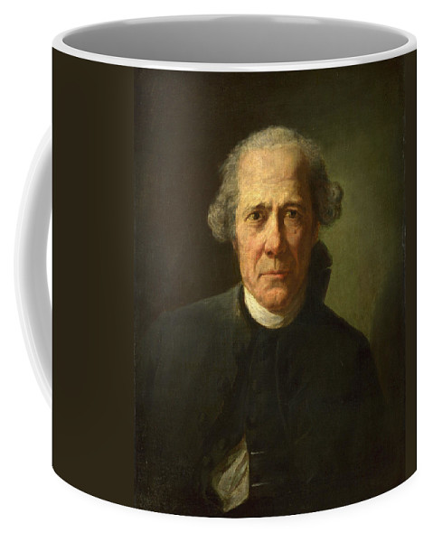 Joseph Ducreux Coffee Mug featuring the painting Portrait Of A Man by Joseph Ducreux