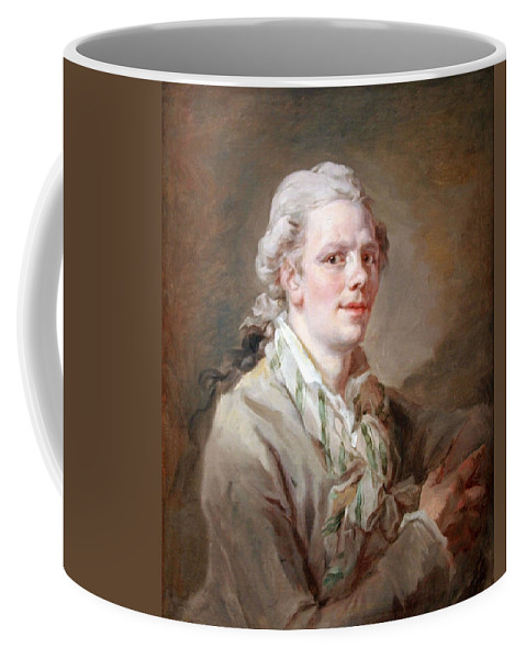 Portrait Of A Young Man Coffee Mug featuring the photograph Portrait Of A Young Man by Cora Wandel