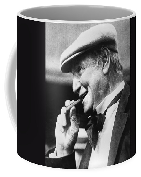 1922 Coffee Mug featuring the photograph Portrait Of Opie Read. by Underwood Archives