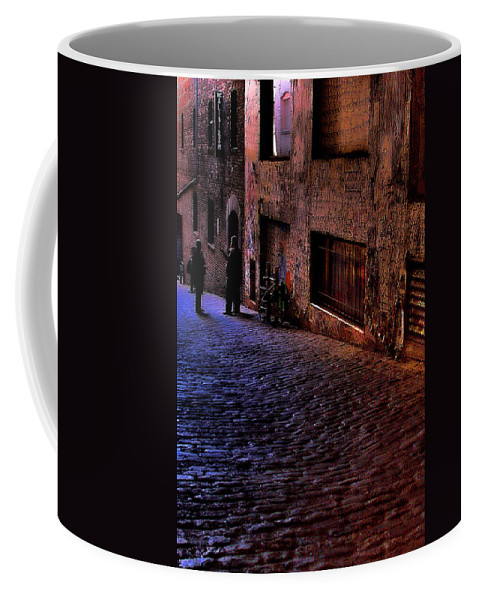 Post Alley Coffee Mug featuring the photograph Post Alley - Seattle by David Patterson