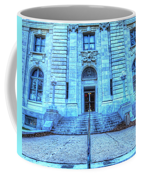 Post Office Coffee Mug featuring the photograph Post Office West Avenue by Greg Hager