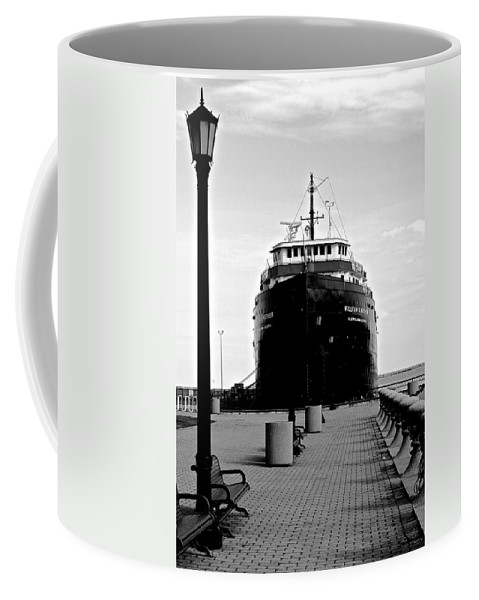Ship Coffee Mug featuring the photograph Postcard Perfect by Frozen in Time Fine Art Photography