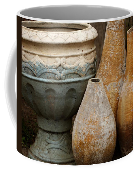 Pottery Coffee Mug featuring the photograph Pottery Still Life by Terry Fleckney