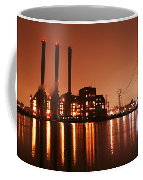 Rhode Island Coffee Mug featuring the photograph Power by Conor McLaughlin