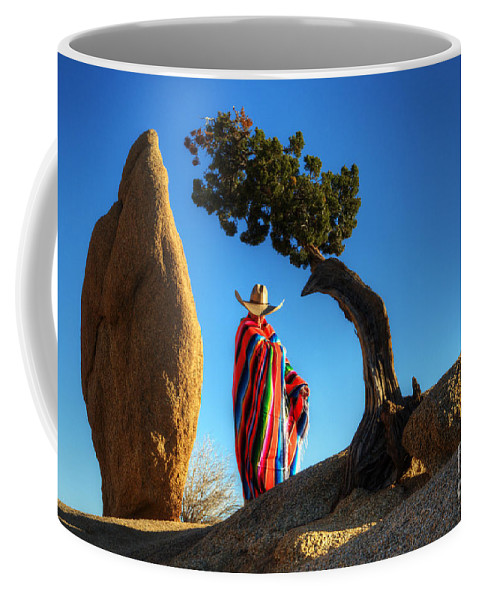 Joshua Tree Coffee Mug featuring the photograph Power Of Thought 1 by Bob Christopher