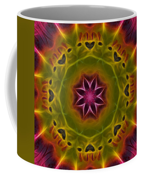 Mandala Coffee Mug featuring the photograph Powerful Creator - Square by Beth Sawickie