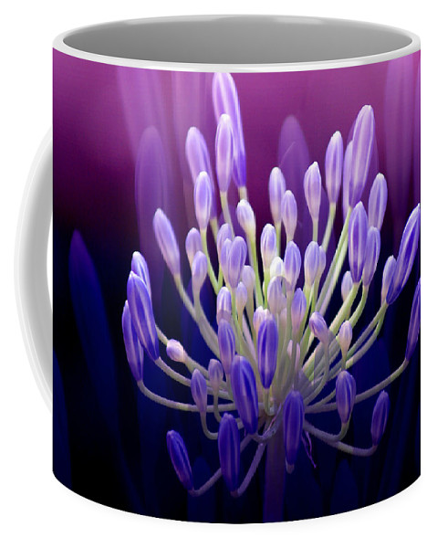 Agapanthus Coffee Mug featuring the photograph Praise by Holly Kempe