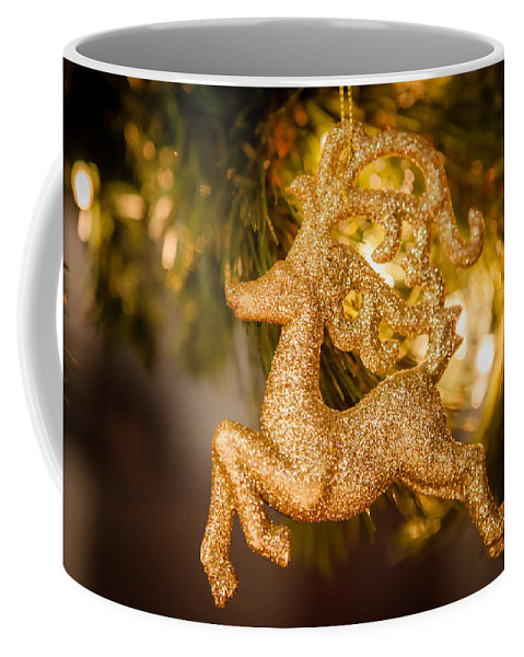 2012 Coffee Mug featuring the photograph Prancer by Melinda Ledsome