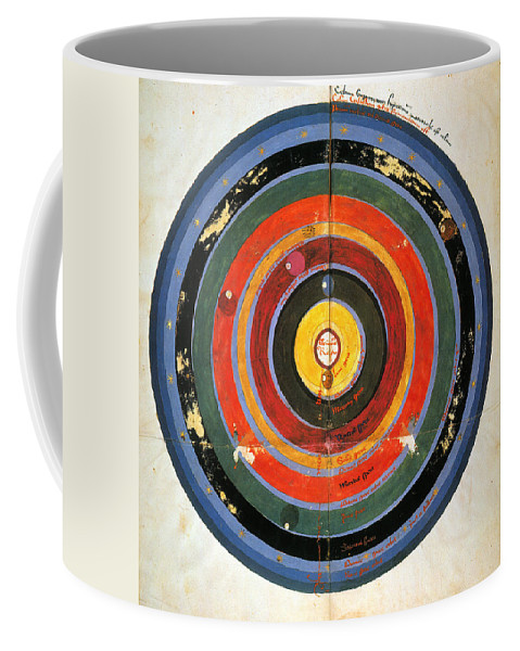 15th Century Coffee Mug featuring the photograph Pre-copernican Universe by Granger