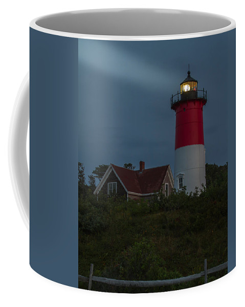 Lighthouse Coffee Mug featuring the photograph Predawn Light by Brian Caldwell