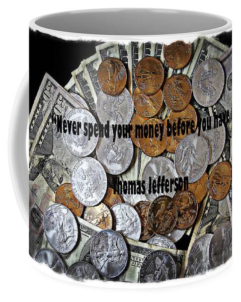 Colorado Coffee Mug featuring the photograph Presidential Advice by Bob Hislop