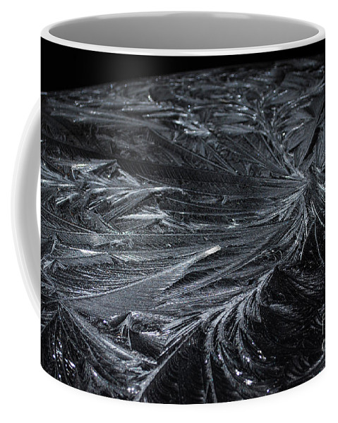 Ice Coffee Mug featuring the photograph Pretty Icy by Judy Wolinsky