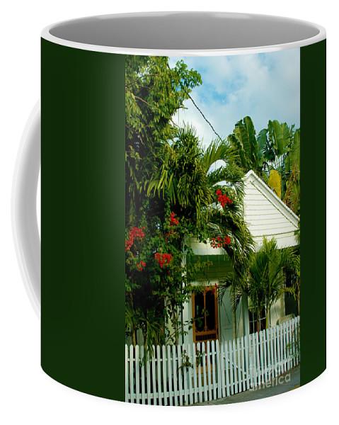 Key West Coffee Mug featuring the photograph Pretty Key West Florida by Susanne Van Hulst