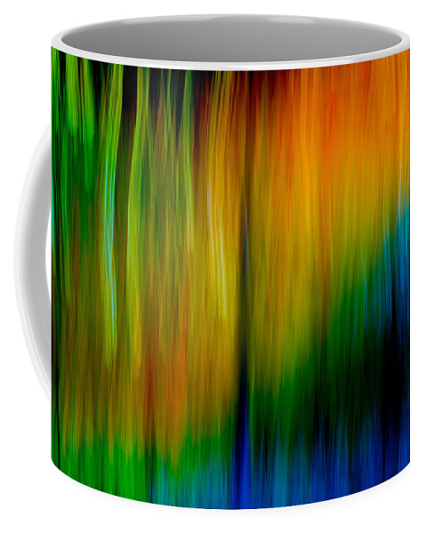 Abstracts Coffee Mug featuring the photograph Primary Rainbow by Darryl Dalton