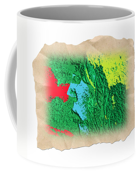 Abstract Coffee Mug featuring the photograph Primitive by Dart and Suze Humeston