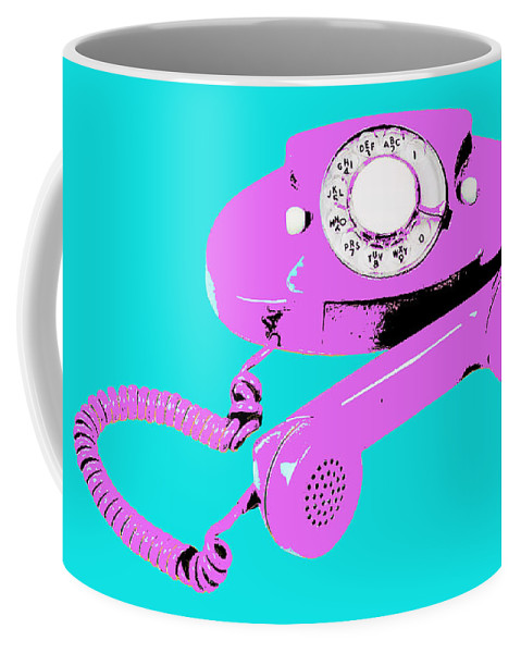 Princess Coffee Mug featuring the mixed media Princess 4 by Dominic Piperata