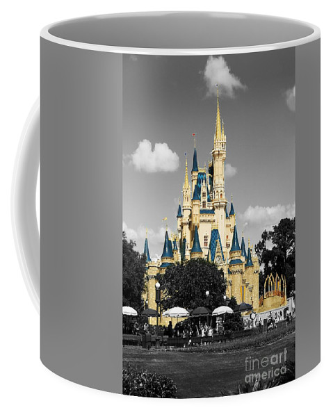 Castle Coffee Mug featuring the photograph Princess Castle by Eric Liller