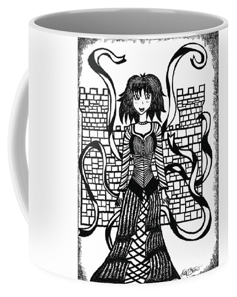 Princess Guinevere Coffee Mug featuring the photograph Princess Guinevere by Kasia Bitner