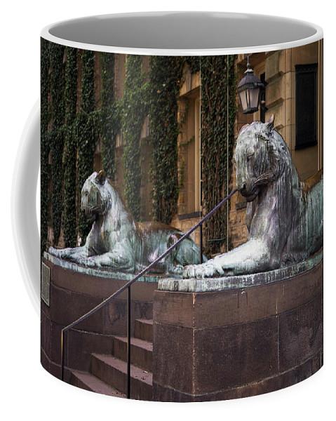 Princeton University Coffee Mug featuring the photograph Princeton Tigers by Madeline Ellis